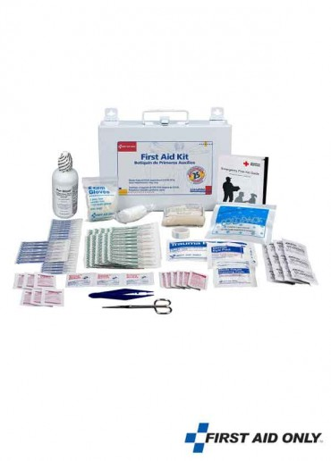 25 Persons First Aid Kit -Metal Case