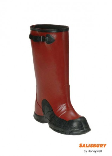"""Dielectric 17"""" deep heel boots - Size 08"""