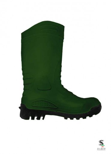 PVC Safety Boots -  Green