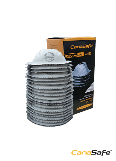 iNNovAir 72115™ Replacement Filter for 82115 with Activated Carbon Layer
