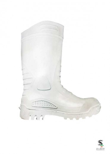 PVC Safety Boots -  White