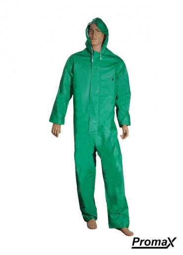 PVC Chemical Coverall - Large