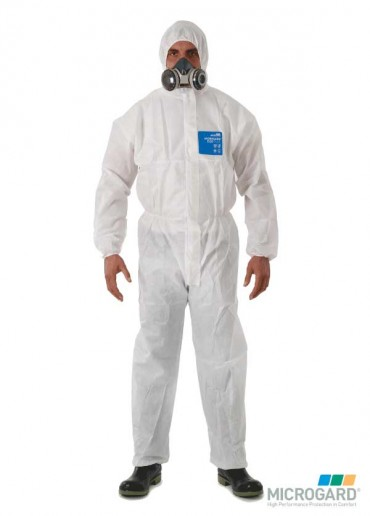 MICROGARD® 1500 Plus Coverall White - Large
